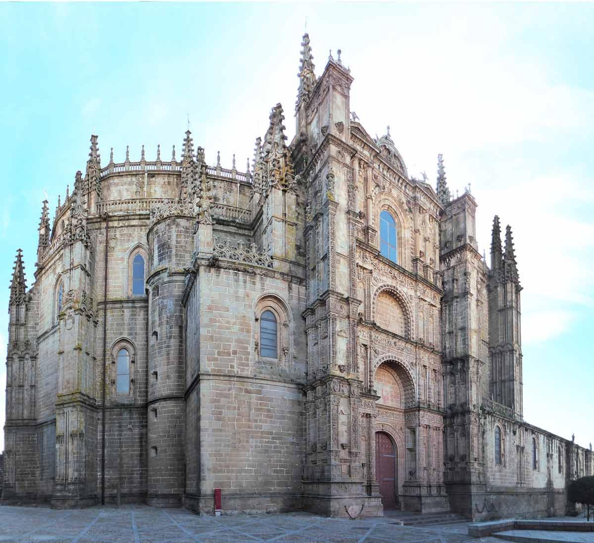 Catedral Nueva Panoramica Plasencia