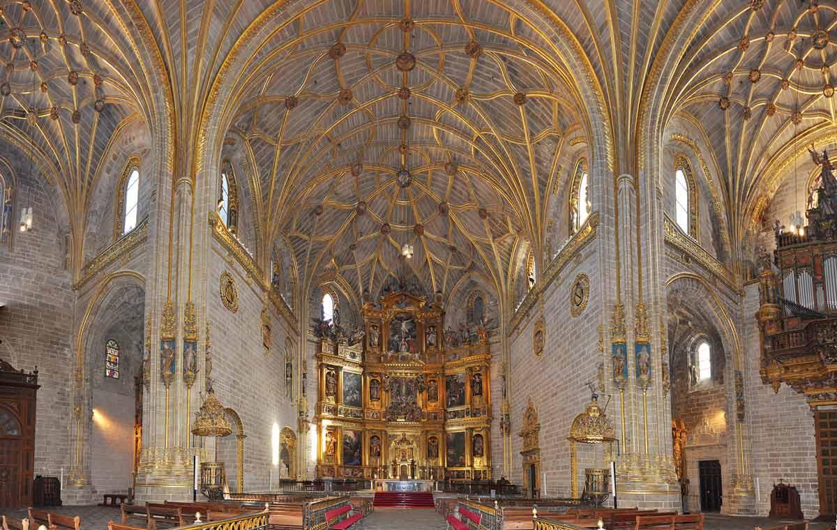 Plasencia Catedral Nueva Dorada