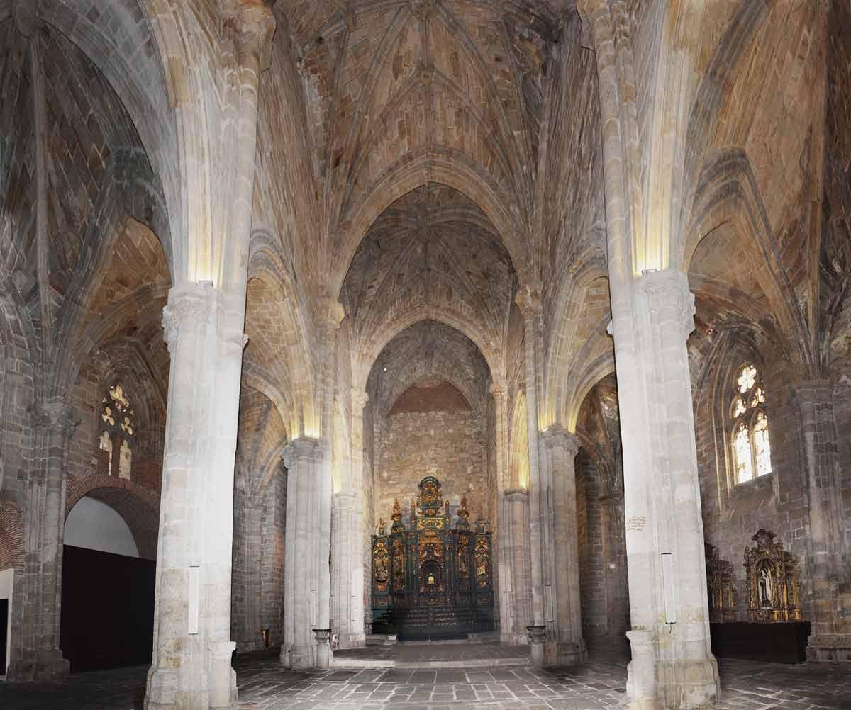Plasencia Catedral Vieja Interior