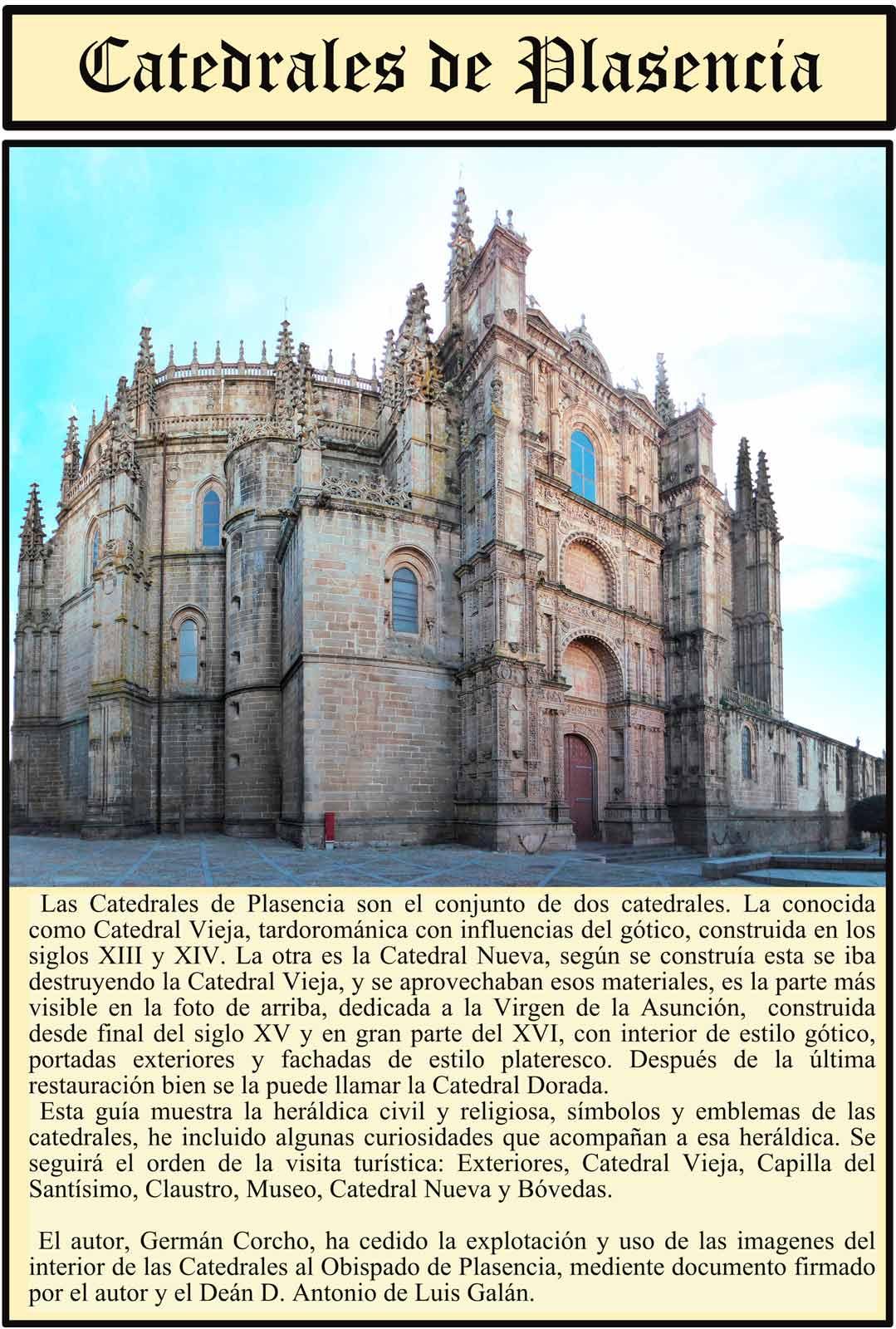 Catedrales de Plasencia Exterior Historia