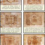 Escudos jacobeos y Vargas Carvajal