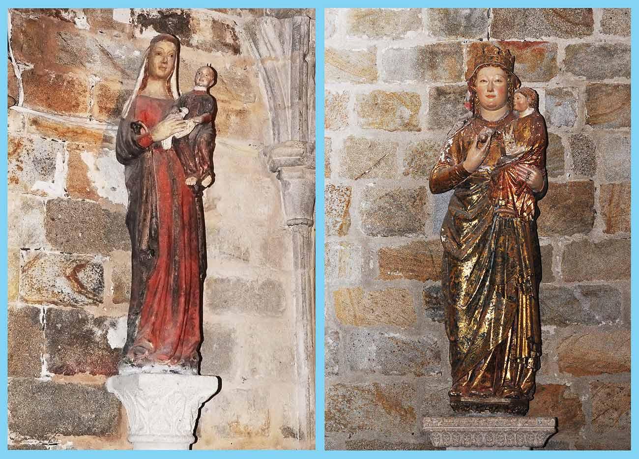 Virgen Blanca y Virgen del Perdon