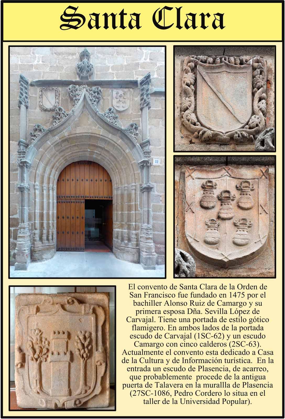 Portada gotico flamigera de Santa Clara, actualmente Centro Cultural