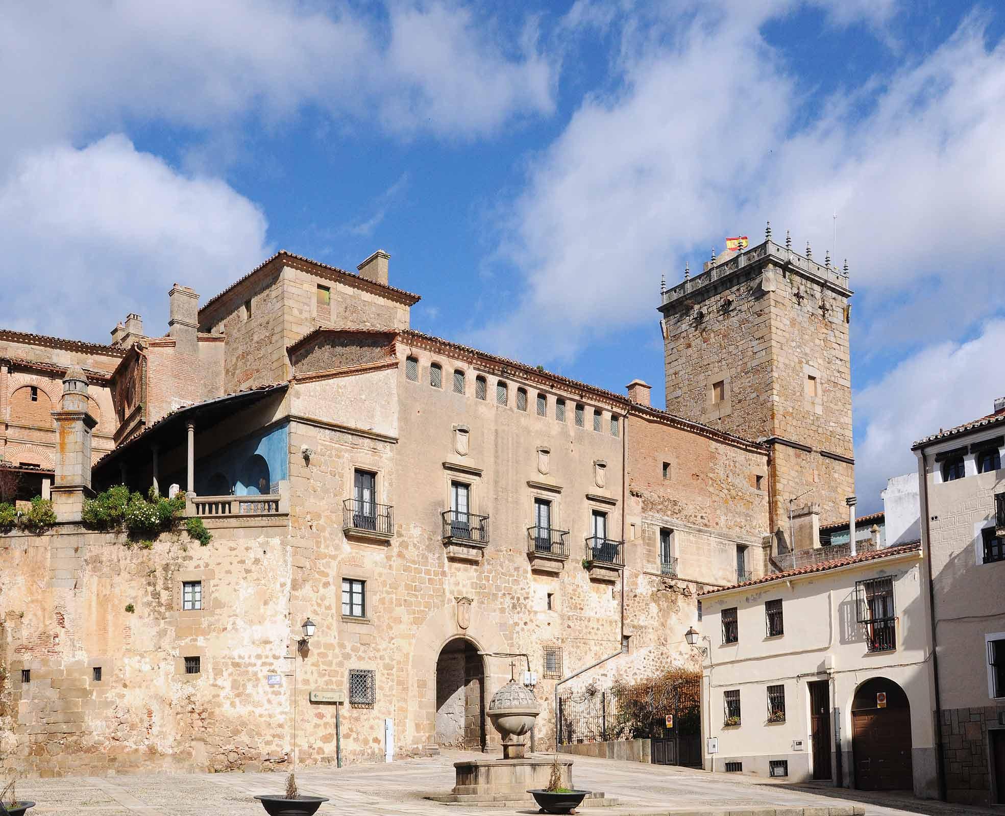 Palacio del Marqués de Mirabel Plasencia