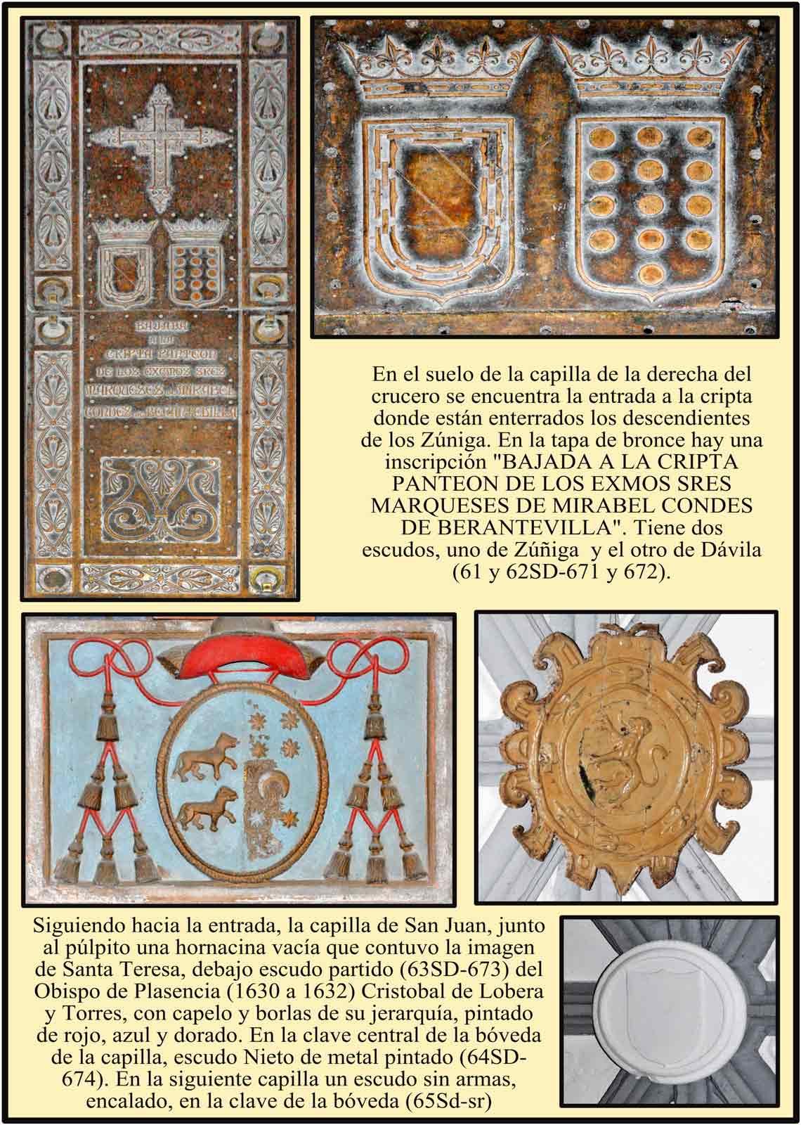 Cripta del Marques de Mirable y conde de Berantevilla