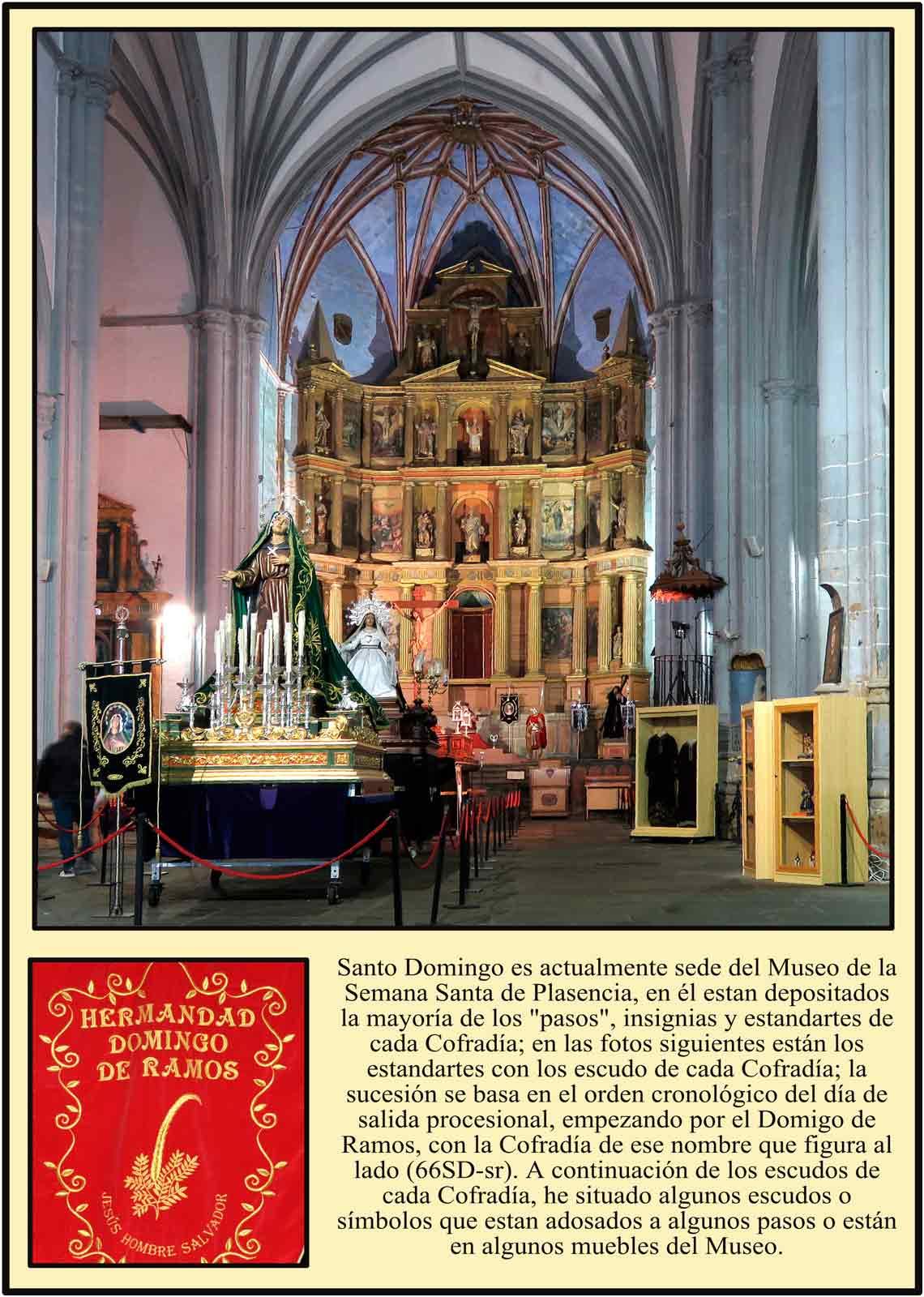 Museo de la Semana Santa de Plasencia Altar mayor