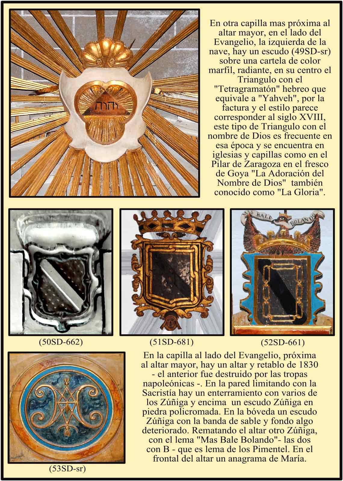 Signo de la Divinidad el Tetragramaton