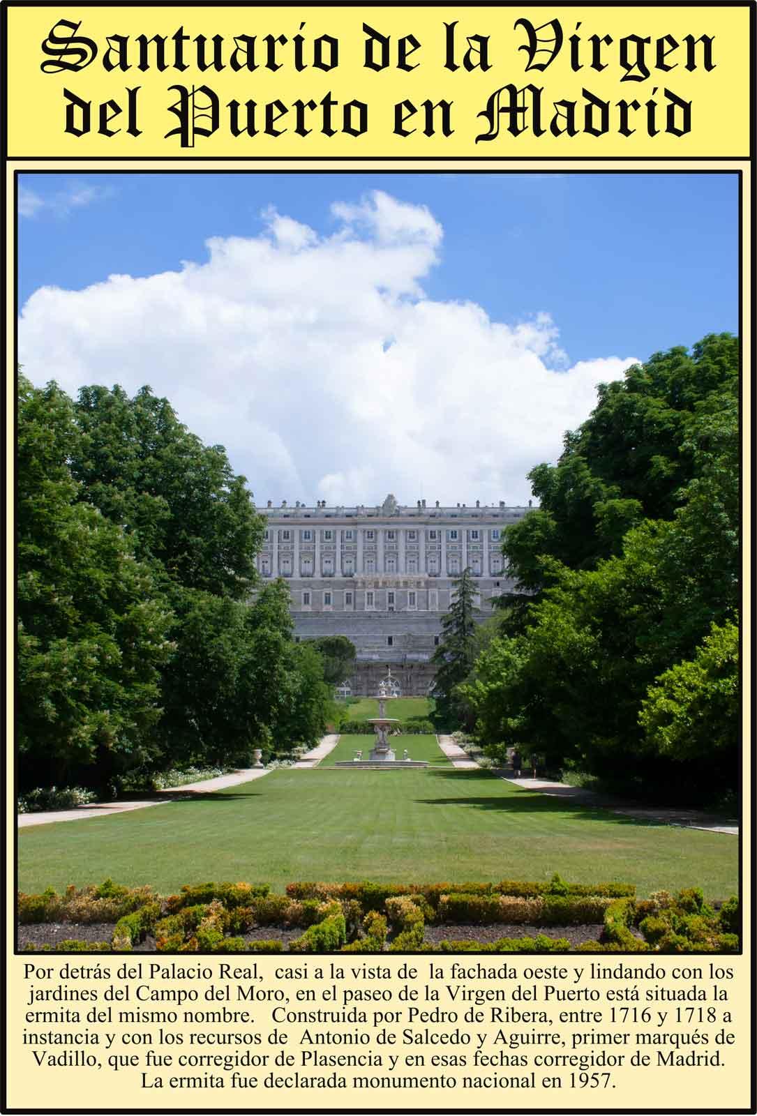 Palacio Real Jardines Campo del Moro Virgen del Puerto