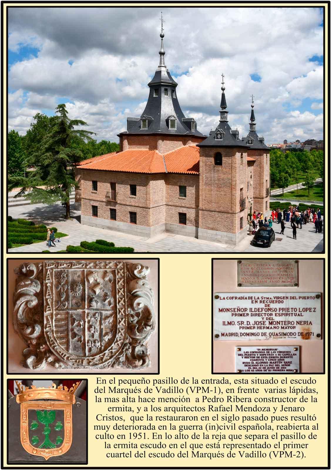 Escudo del Marques de Vadillo Virgen del Puerto