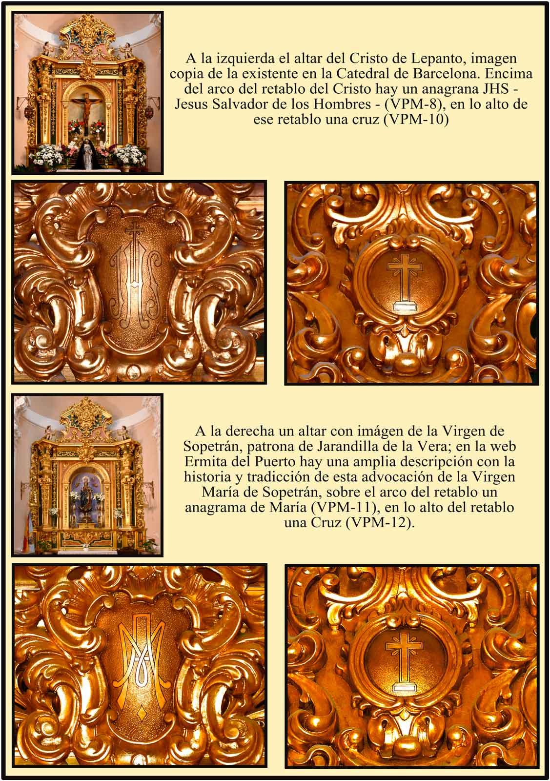 Madrid Cristo de Lepanto Virgen de Sopetran