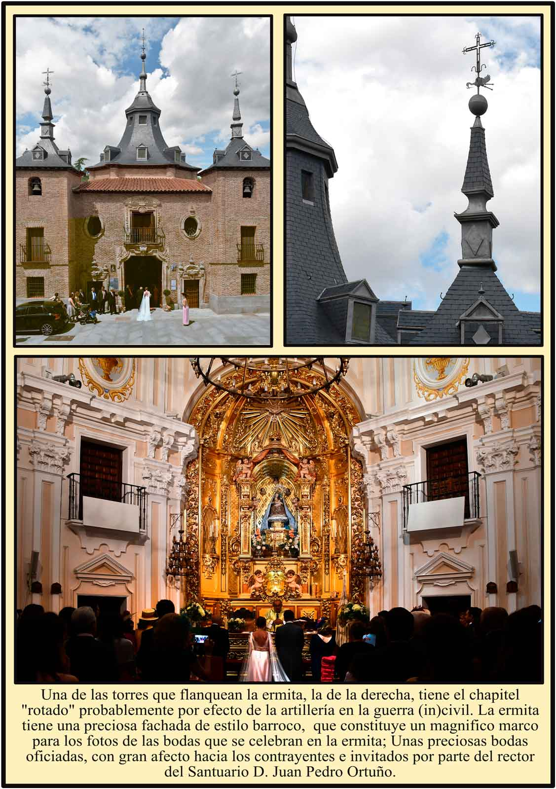 Madrid  Chapitel torcido Virgen del Puerto Bodas