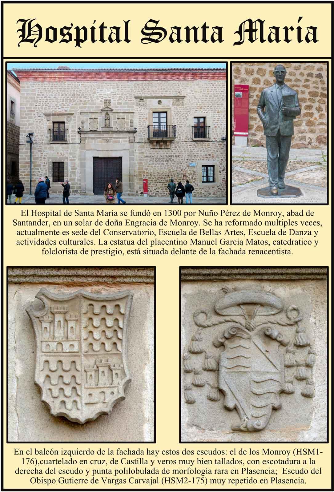 Manuel García Matos Fachada renacentista Hospital Santa María