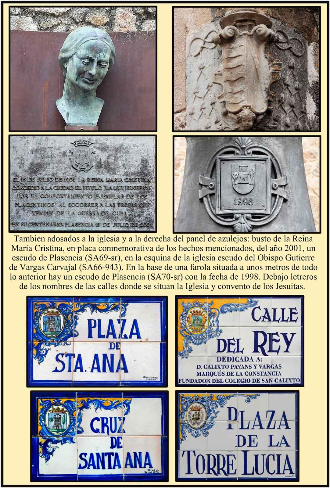 Reina Maria Cristina concesion del titulo Muy Benefica a Plasencia Caceres
