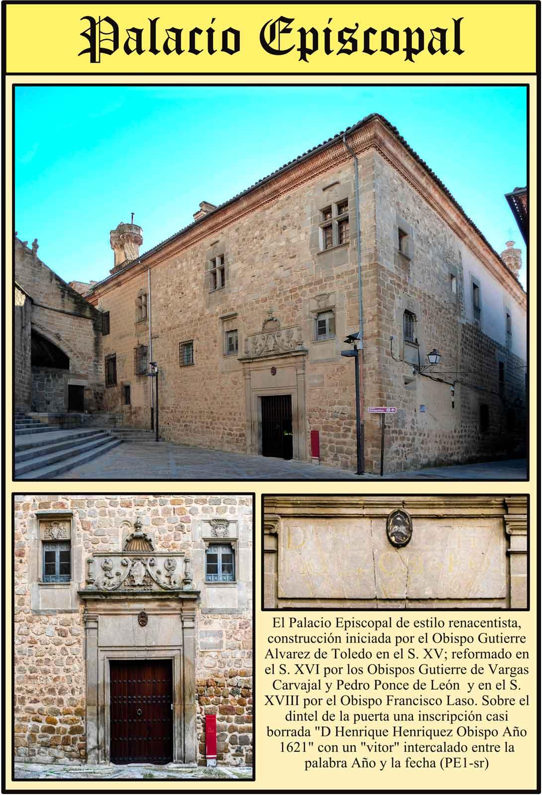 Fachada del Palacio del Obispo