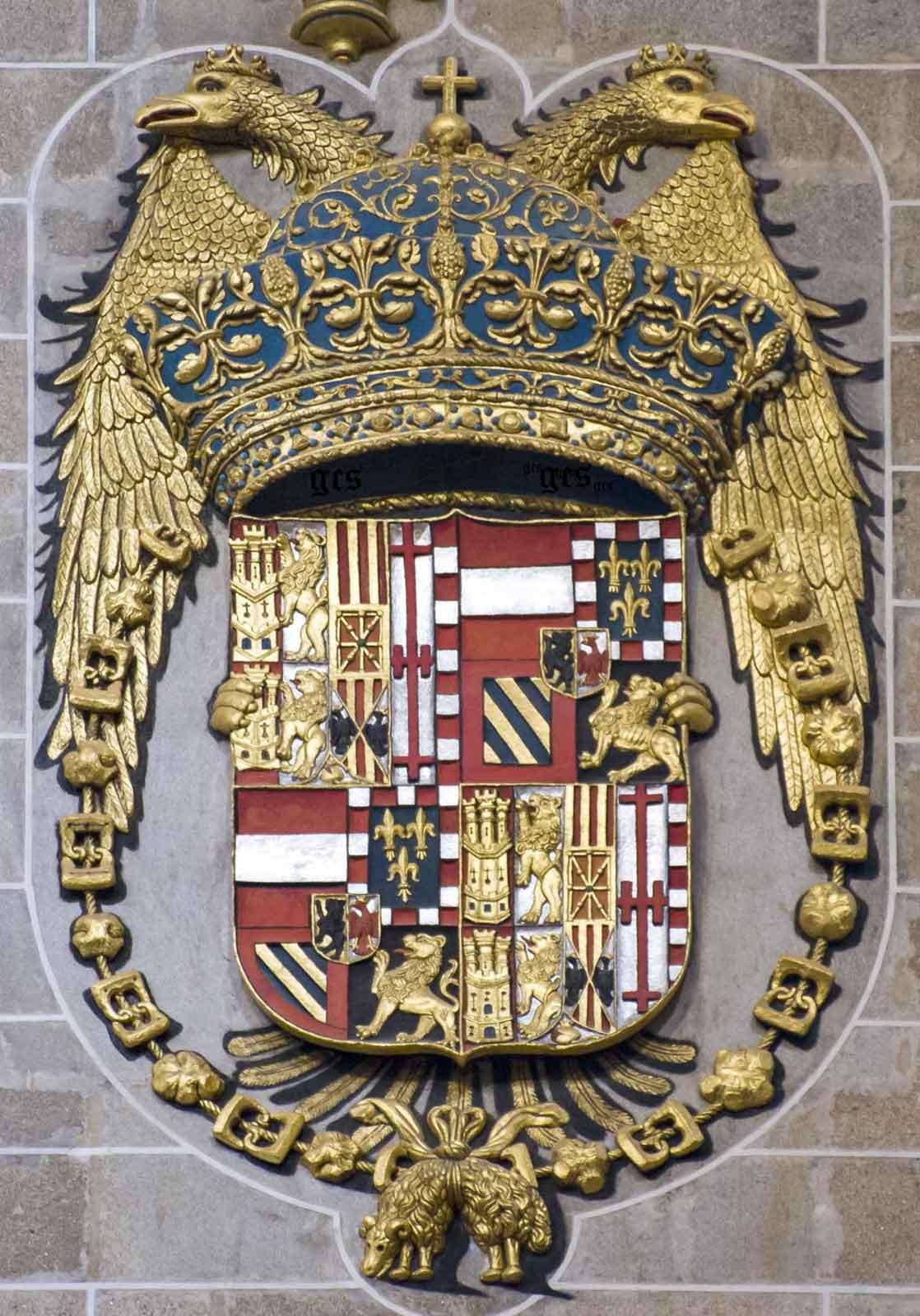 catedral de Plasencia escudo de Carlos V