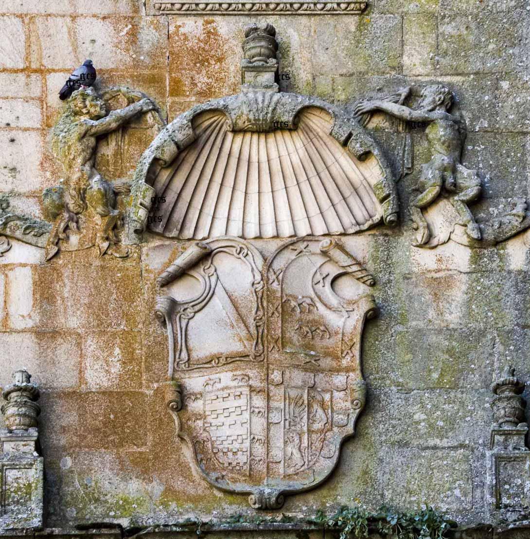 Plasencia zona monumental Armas Zuñigaz y Ayala palacio del Marques de Mirabel