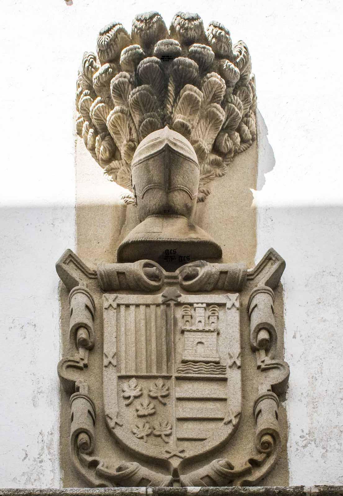 Escudo con las armas de Varillas Trejo Figueroa y Cordoba
