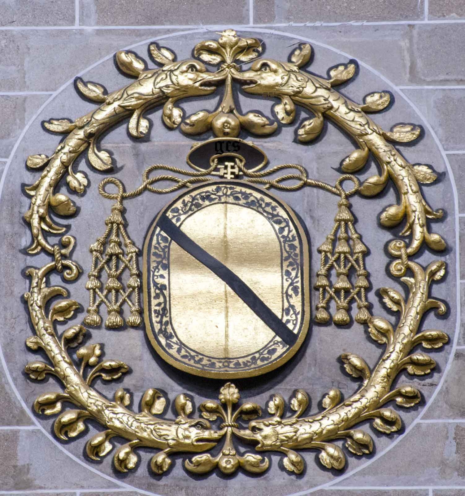 Escudo del Cardenal Bernardino de Carvajal