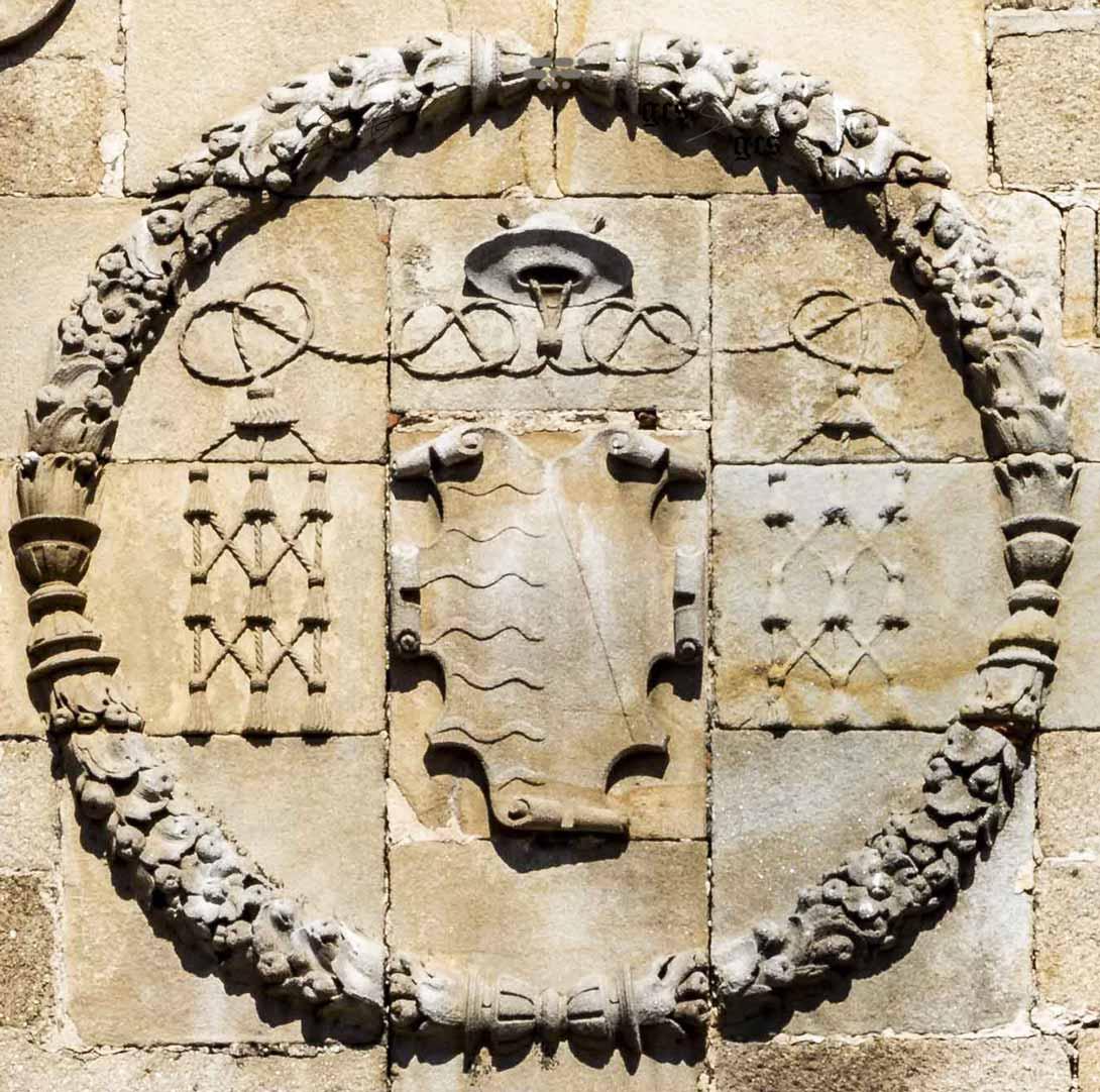 Escudo de Gutierre de Vargas Carvajal