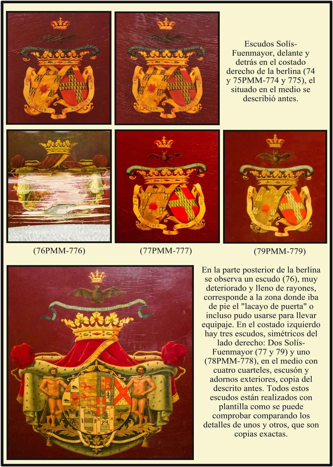 Escudos Solis Fuenmayor Marques de Castel Moncayo