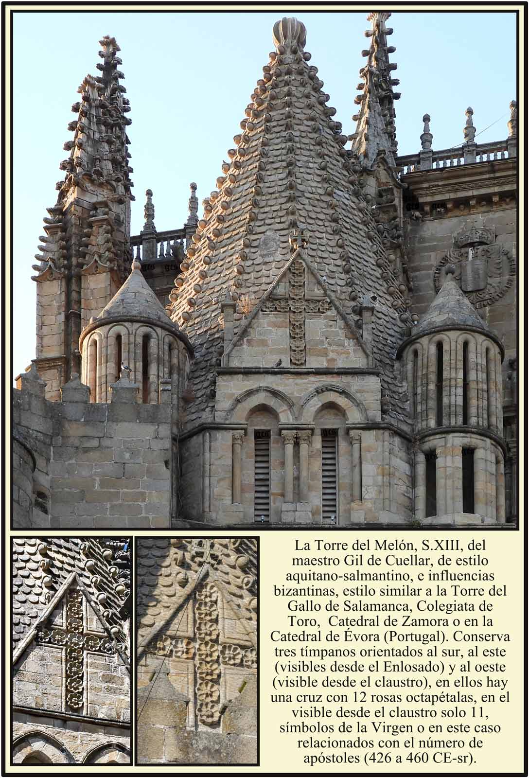 Torre del Melon de estilo romanico siglo XIII Plasencia
