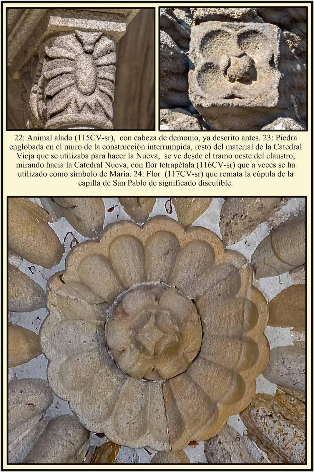 remate de la cupula en la capilla de San Pablo o sala capitular