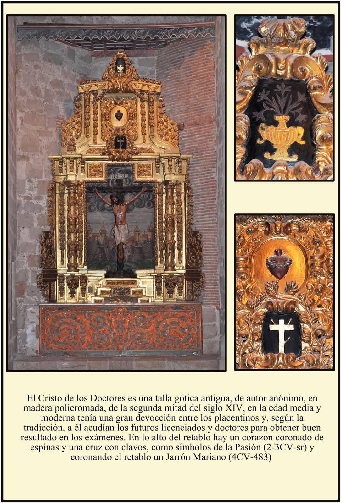 Cristo de los Doctores Talla del siglo XIV Plasencia