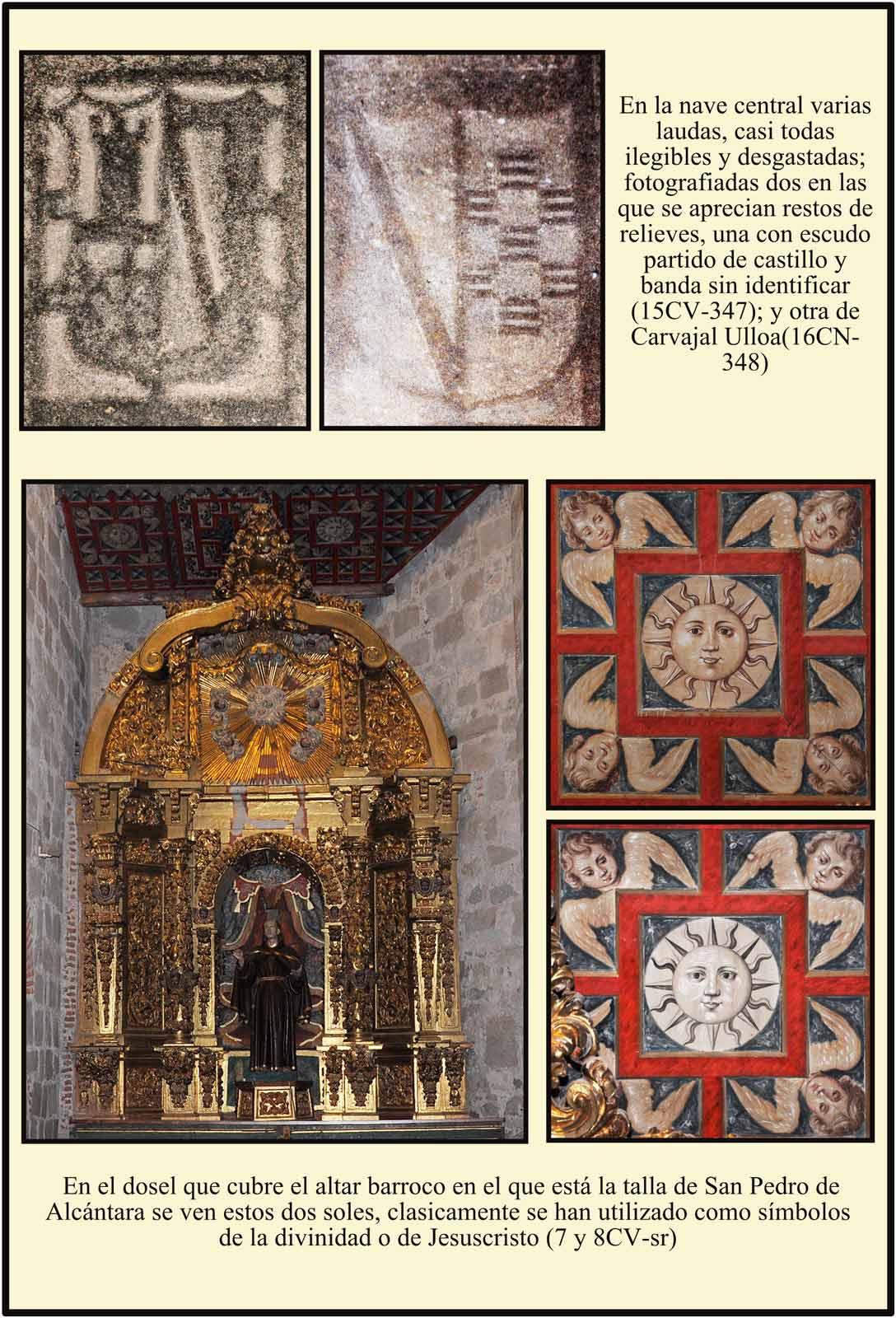 Altar San Pedro de Alcantara