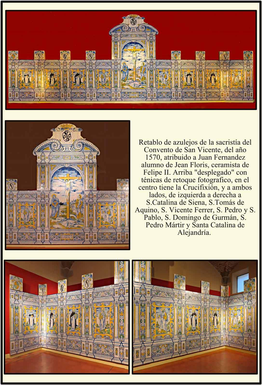 escudos de Predicadores Zuñiga Pimentel Azulejos de Museo Catedral